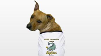 Dog shirt at the PAC gift store